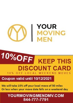 10% Off Weekend Local Moves